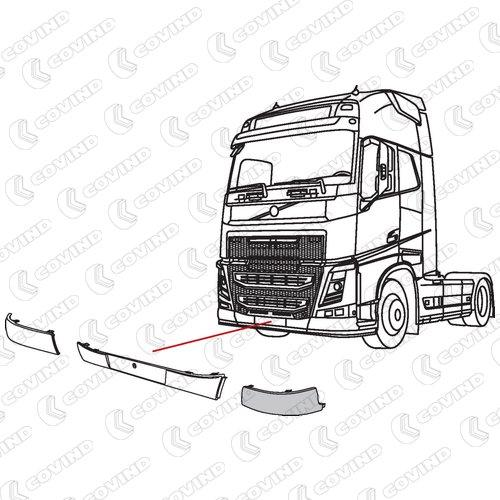 Hfh702l Pieces Camions